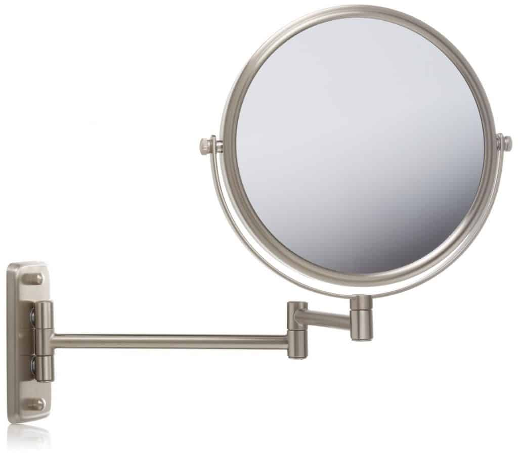 Jerdon HL165CD Wall Mount Makeup Mirror