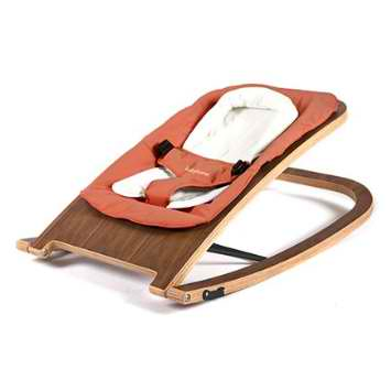 BabyHome Wave Wooden Rocker