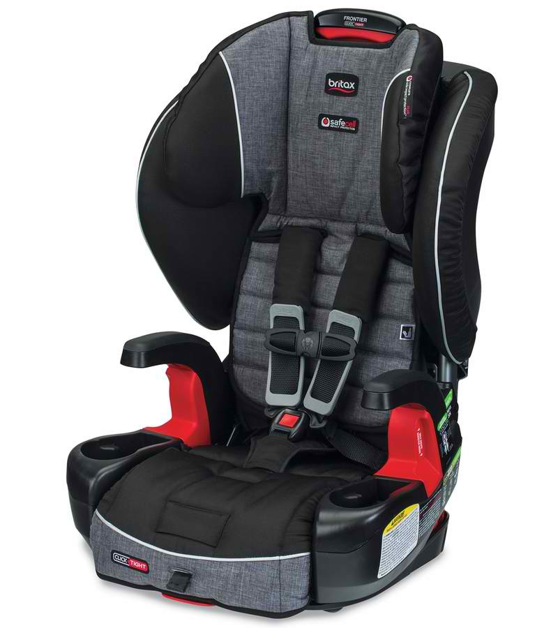 Britax Frontier Clicktight Combination Harness-2 Booster Car Seat