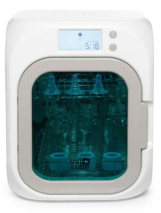There's one thing we have to get out of the way before we go into any details on the UviCube: $300. The good news is that for that price, you can sanitize almost anything you can think of in this unit, including toothbrushes, sponges toys, smartphones, and other electronics.