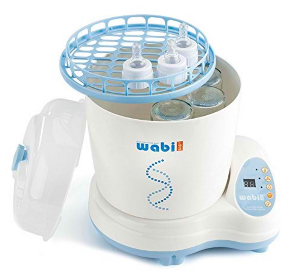 Wabi Baby Electric Steam Sterilizer and Dryer Plus