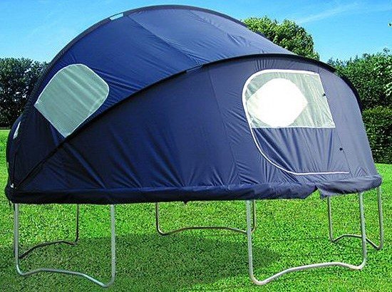 tr&oline tent & Are Trampoline Tent Beds Worth the Hype? | ParentsNeed