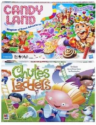 Candy Land Chutes and Ladders