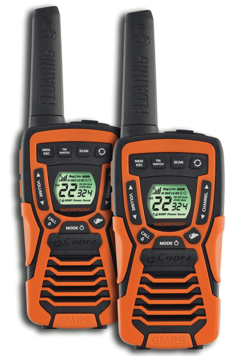 Cobra Electronics ACXT1035R FLT Walkie Talkie (Pair)