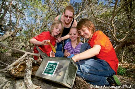 Geocaching Summer Holiday Activities