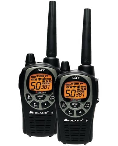 Midland GXT1000VP4 FRS/GMRS Two-Way Radio (Pair)