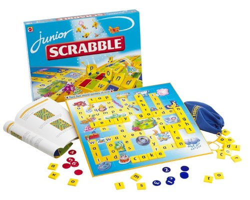 Scrabble and Scrabble Junior
