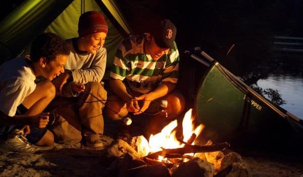 Summer Vacation Ideas - family camping