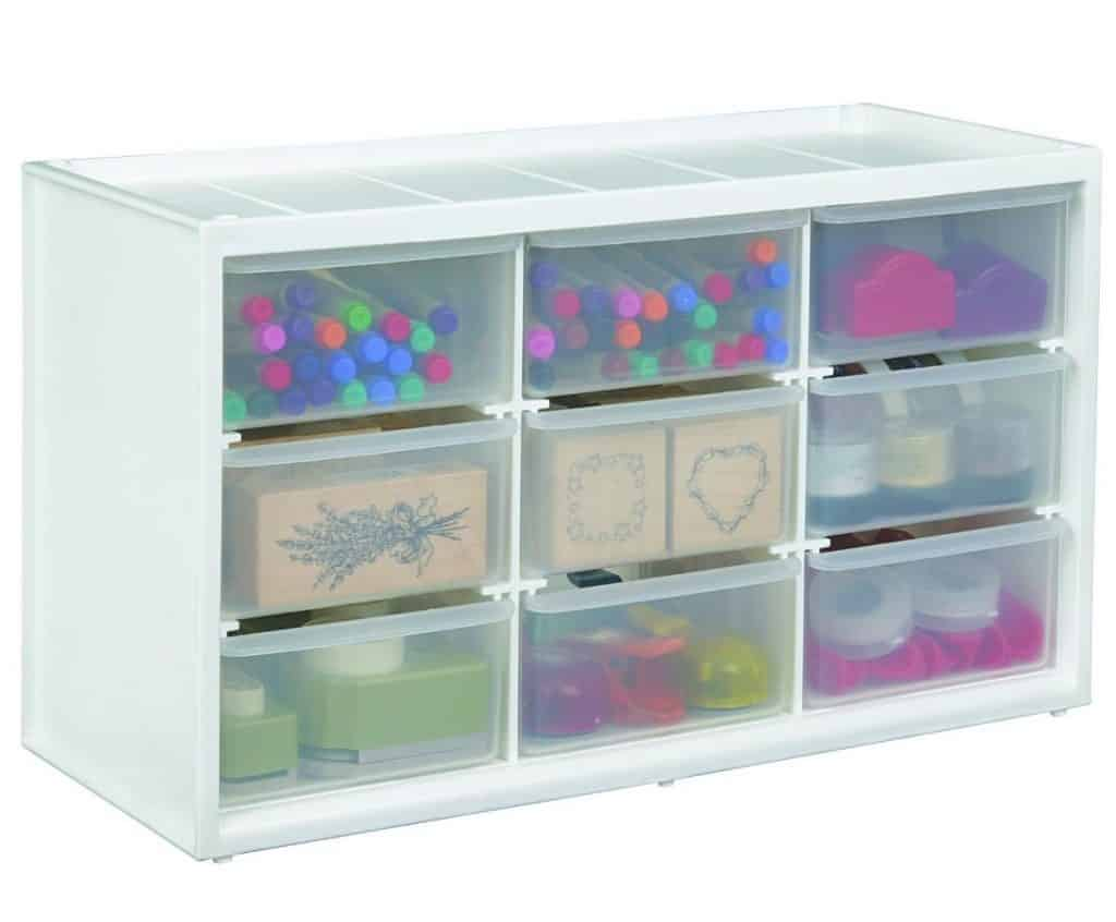 ArtBin Store-In-Drawer Cabinet White Art Craft Storage