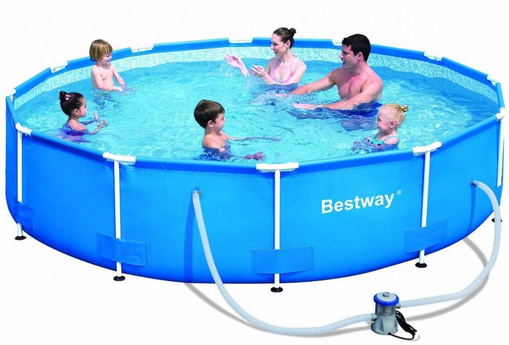 Bestway Steel Pro Round Frame Pool Set