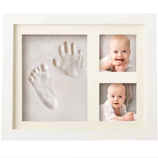 Charming Baby Handprint and Footprint Frame Kit