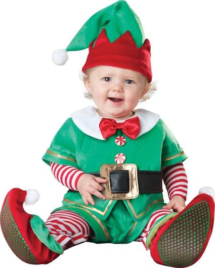 InCharacter Baby's Santa's Lil' Elf Costume