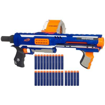 DAVID JOLES • Star Tribune A Nerf gun, one of the many styles that  are available. Loaded with foam darts, they have become ubiquitous among  teenagers ...