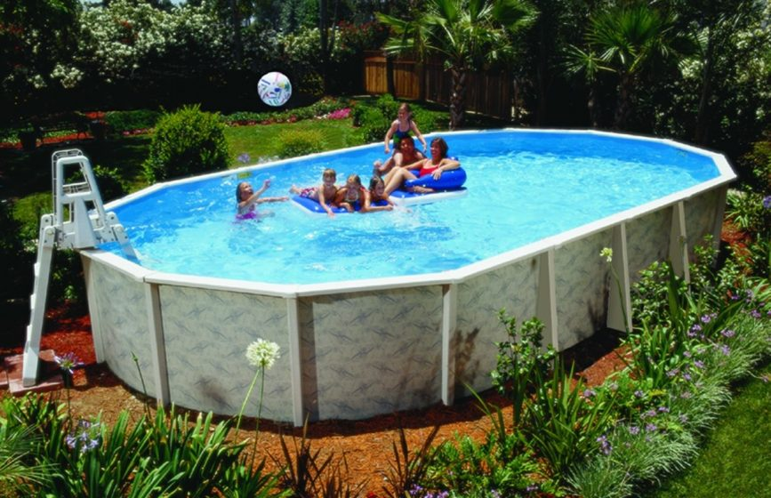 Top Best Above Ground Pool For Your Family Reviews - Backyard pictures with above ground pools