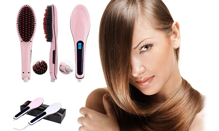 Top 5 Best Hair Brush Straighteners
