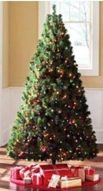 Artificial Christmas Green Madison Pine Tree