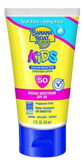 Banana Boat Sunscreen Kids