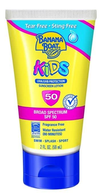 Banana Boat Sunscreen Kids