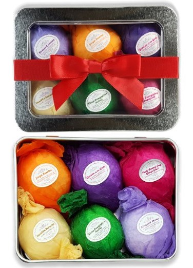 Bathtub Teas Bath Bombs Gift Set