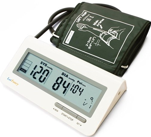LotFancy Automatic Digital Arm Blood Pressure Monitor