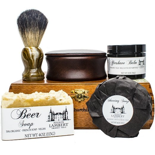 Maison Lambert Deluxe Organic Shaving Kit