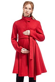 Maternity Coat Beatrice Wool Flared By Nothing But Love