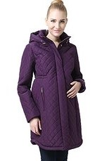 Momo Maternity Prue Quilted Parka Coat