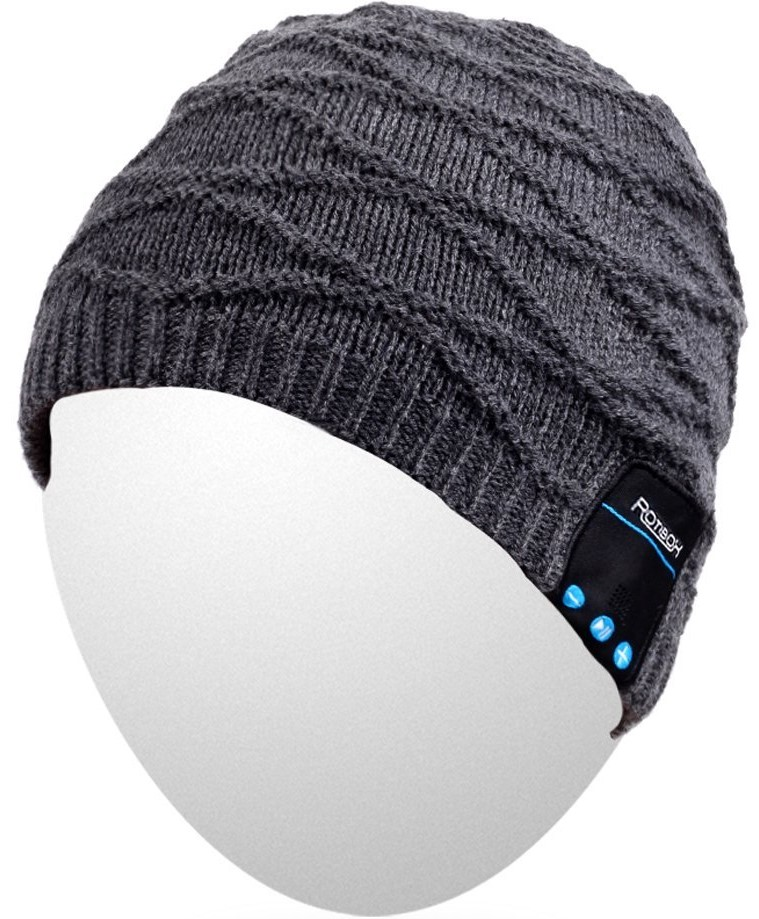 QShell Bluetooth Beanie Washable Winter Hat