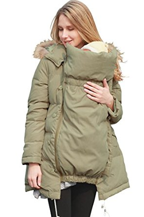 Sweet Mommy Maternity and Mother's Down Coat