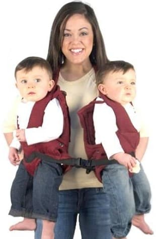 Twin Trexx Twin Baby Carrier