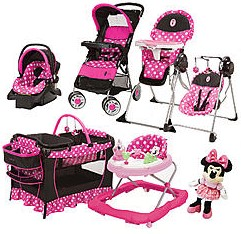 Disney Baby Stroller and Travel System Gear Bundle Collection