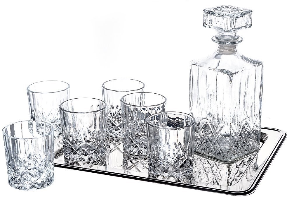 Klikel Ingrid 8-Piece Whiskey Set