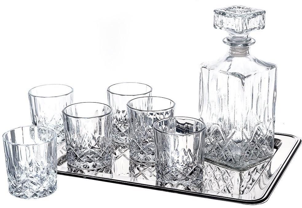 Klikel Ingrid 8-Piece Whiskey Set