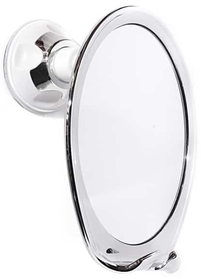 modern man products fogless shower mirror