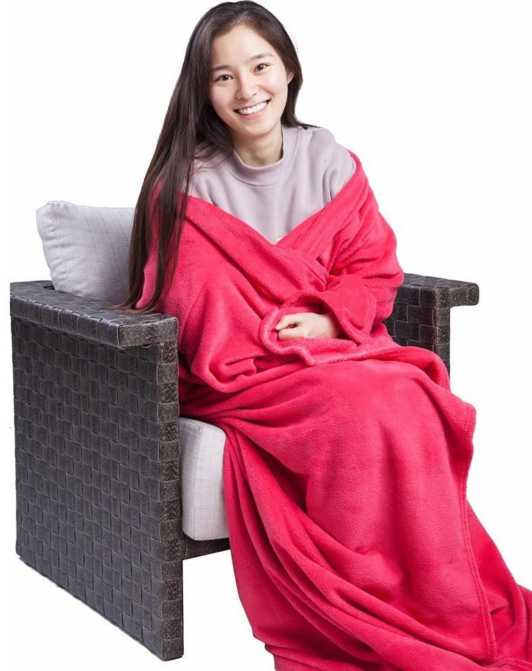 Monstar Velvet Snuggie Blanket
