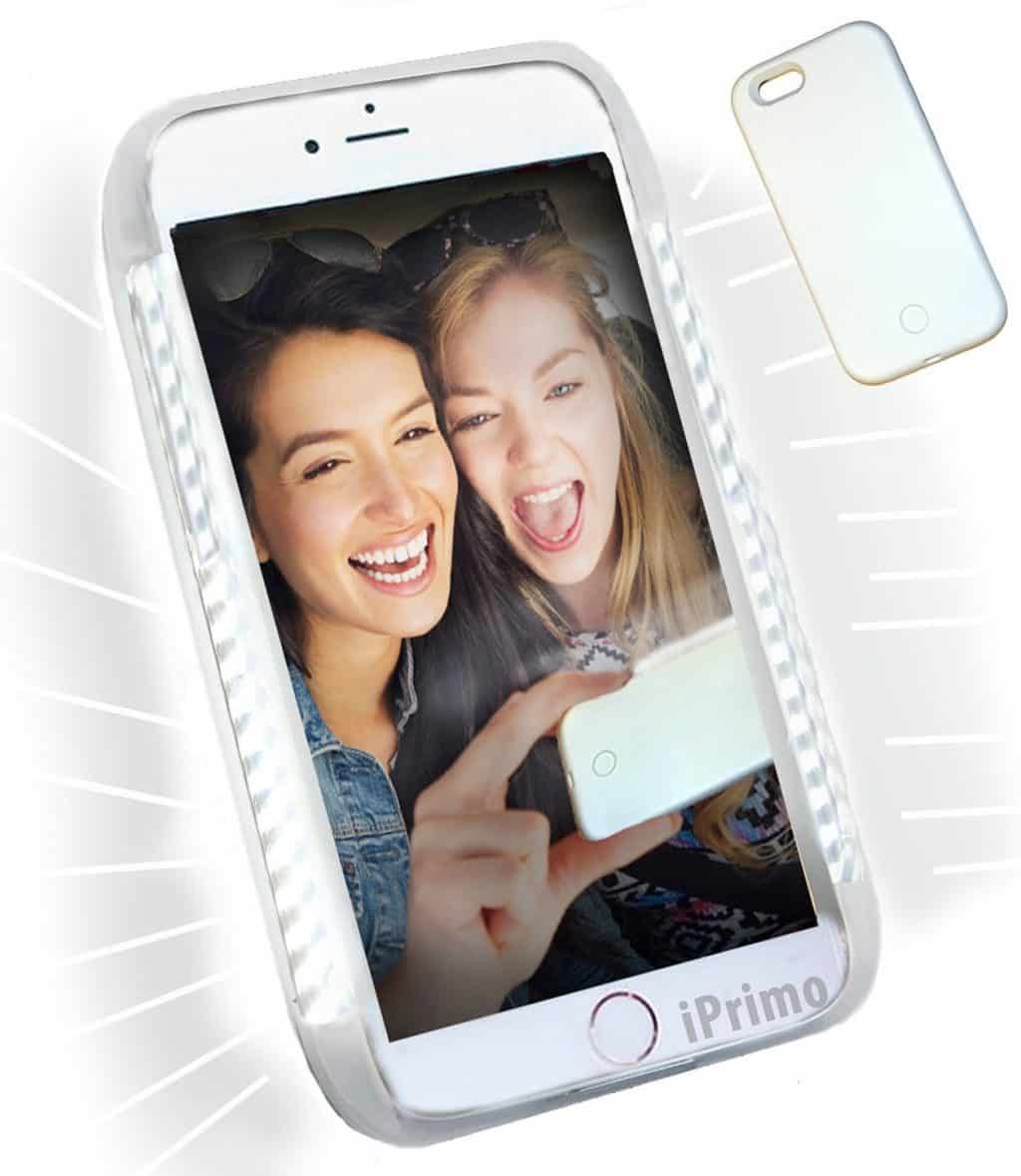 Soft Bright LED Lighting (Dimmable) Cell Phone Case by iPrimio