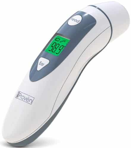 iProven DMT-489 Medical Forehead and Ear Thermometer