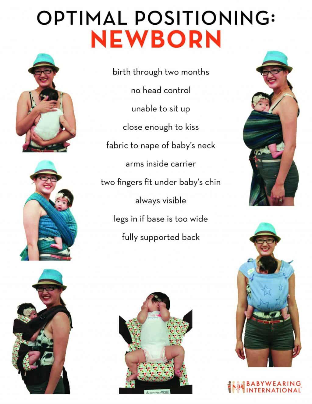 babywearing newborn
