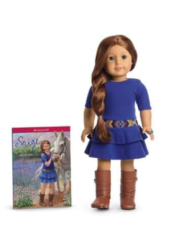 American Girl of 2013 Saige Doll