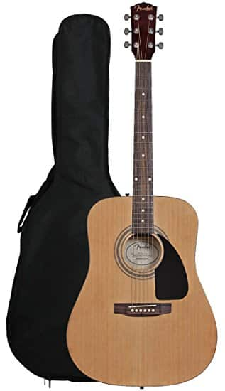 Fender FA-100 Dreadnought Acoustic Guitar with Gig Bag