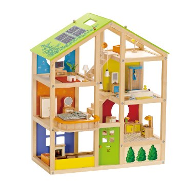 Hape All Seasons Wooden Doll House