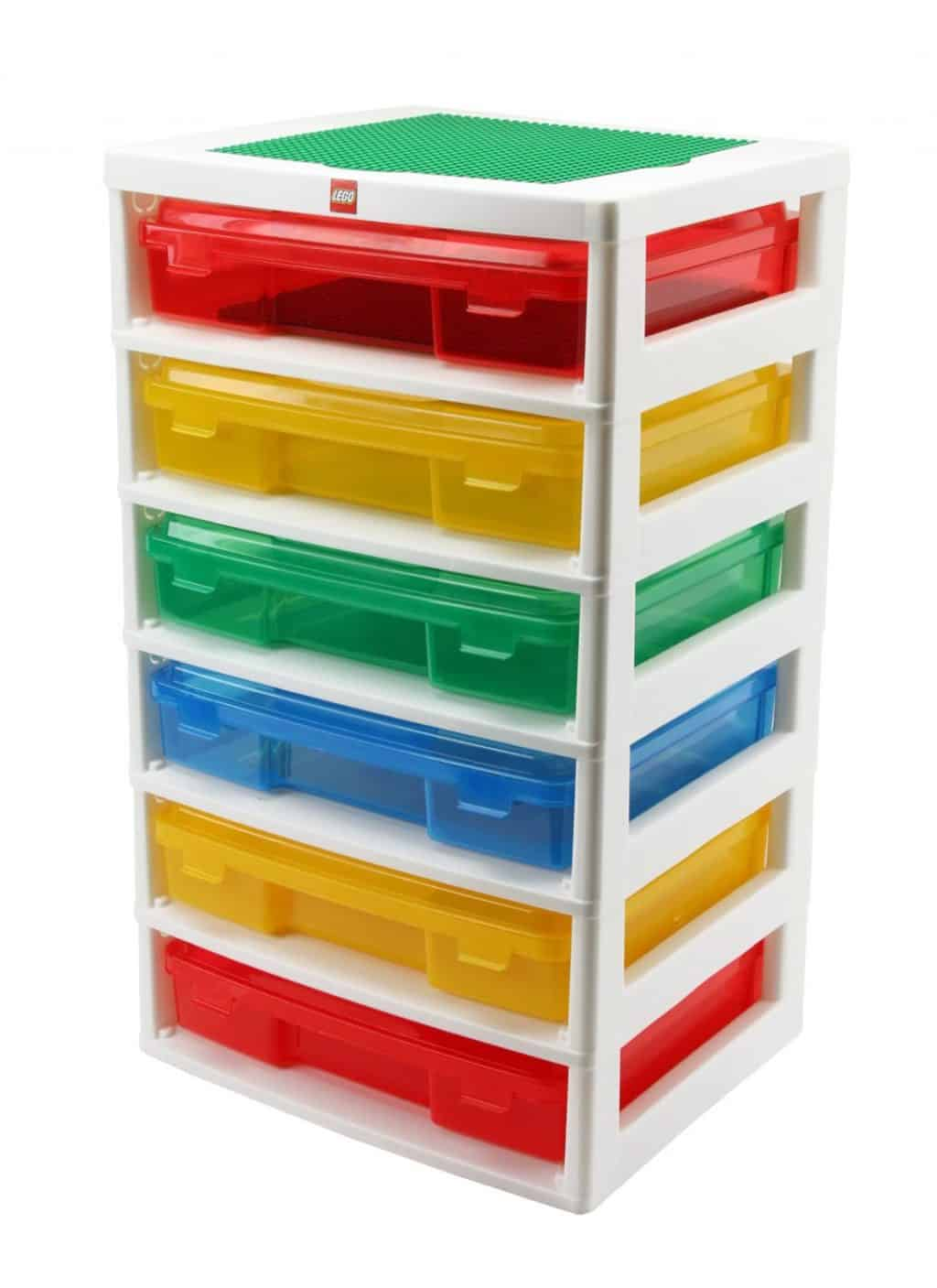 IRIS LEGO 6-Case Workstation and Storage Unit