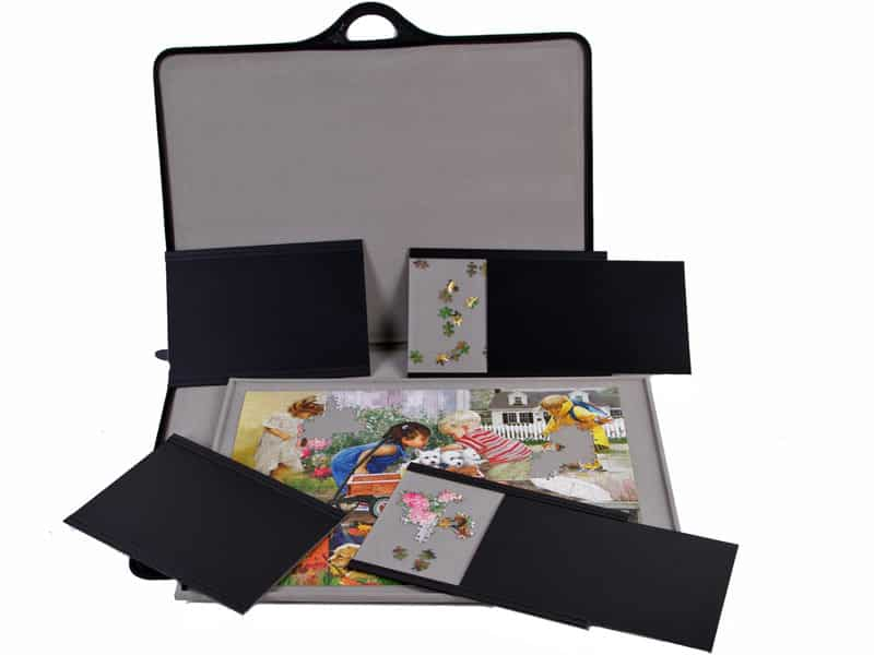 JIGSORT 1500 - Jigsaw puzzle case for up to 1,500 pieces from Jigthings