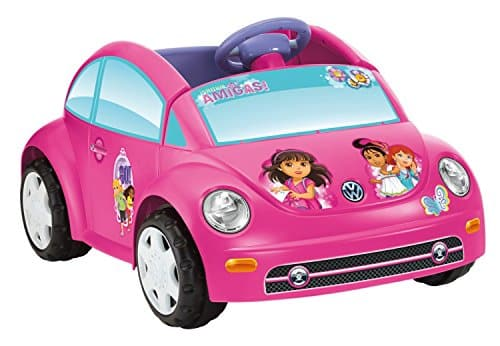 Power Wheels Dora and Friends Volkswagen New Beetle
