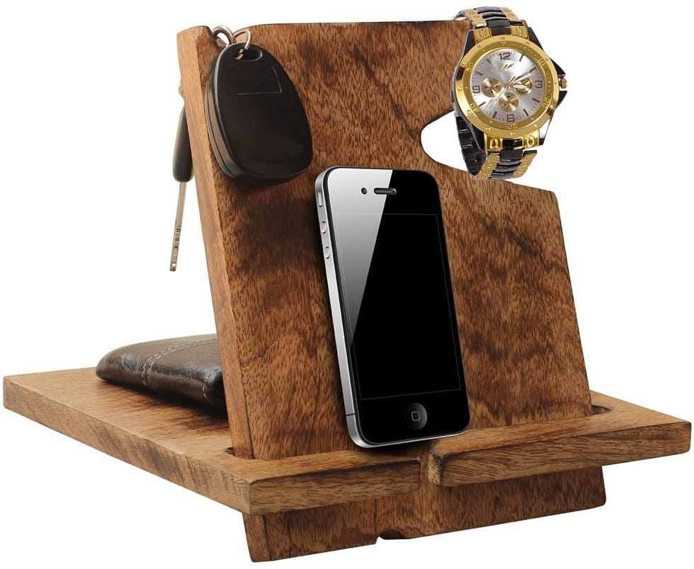 AB Handictafts - Mango Wooden Docking Station