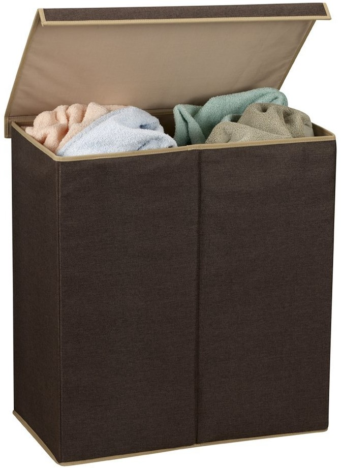 Household Essentials Double Hamper Laundry Sorter