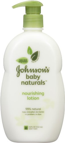 Johnson's Natural Nourishing Baby Lotion