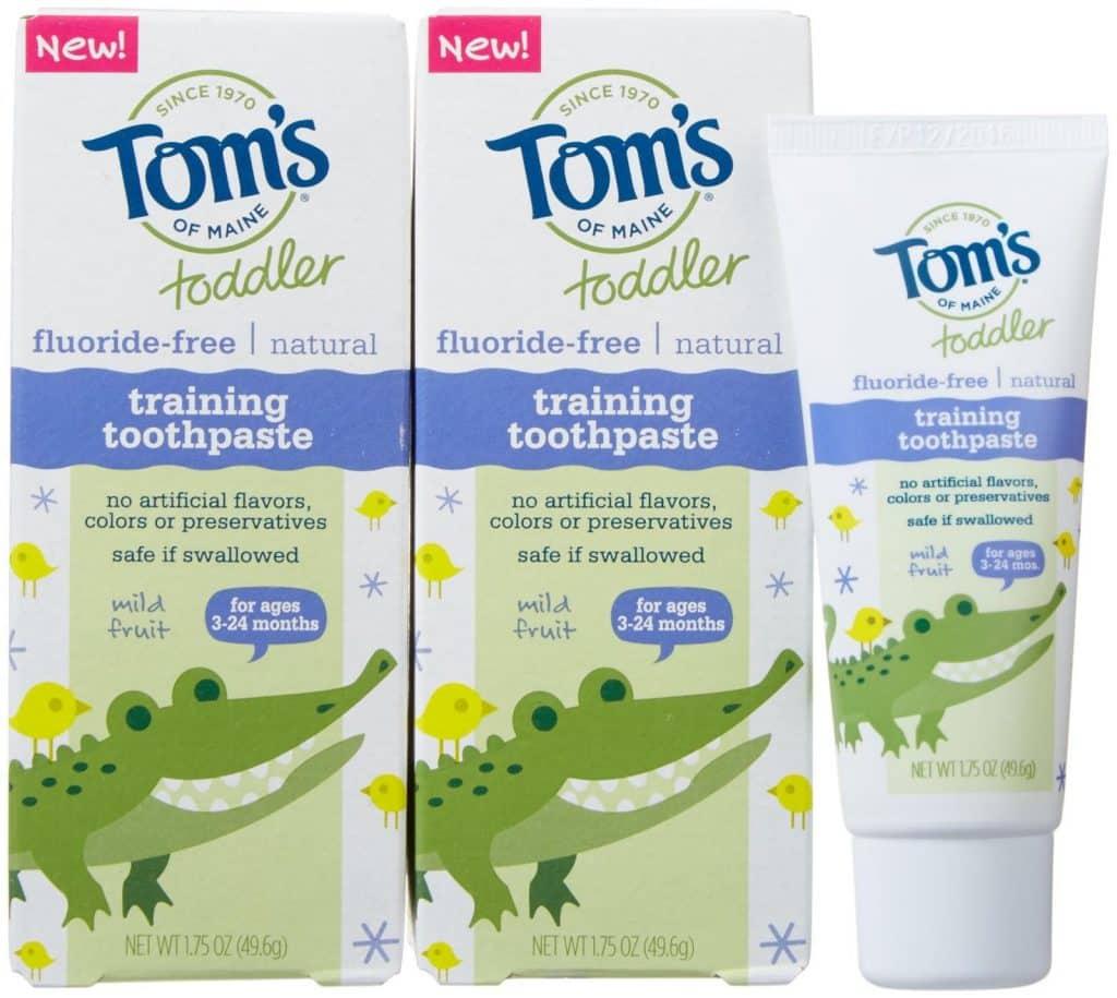 Tom's of Maine Training Toothpaste
