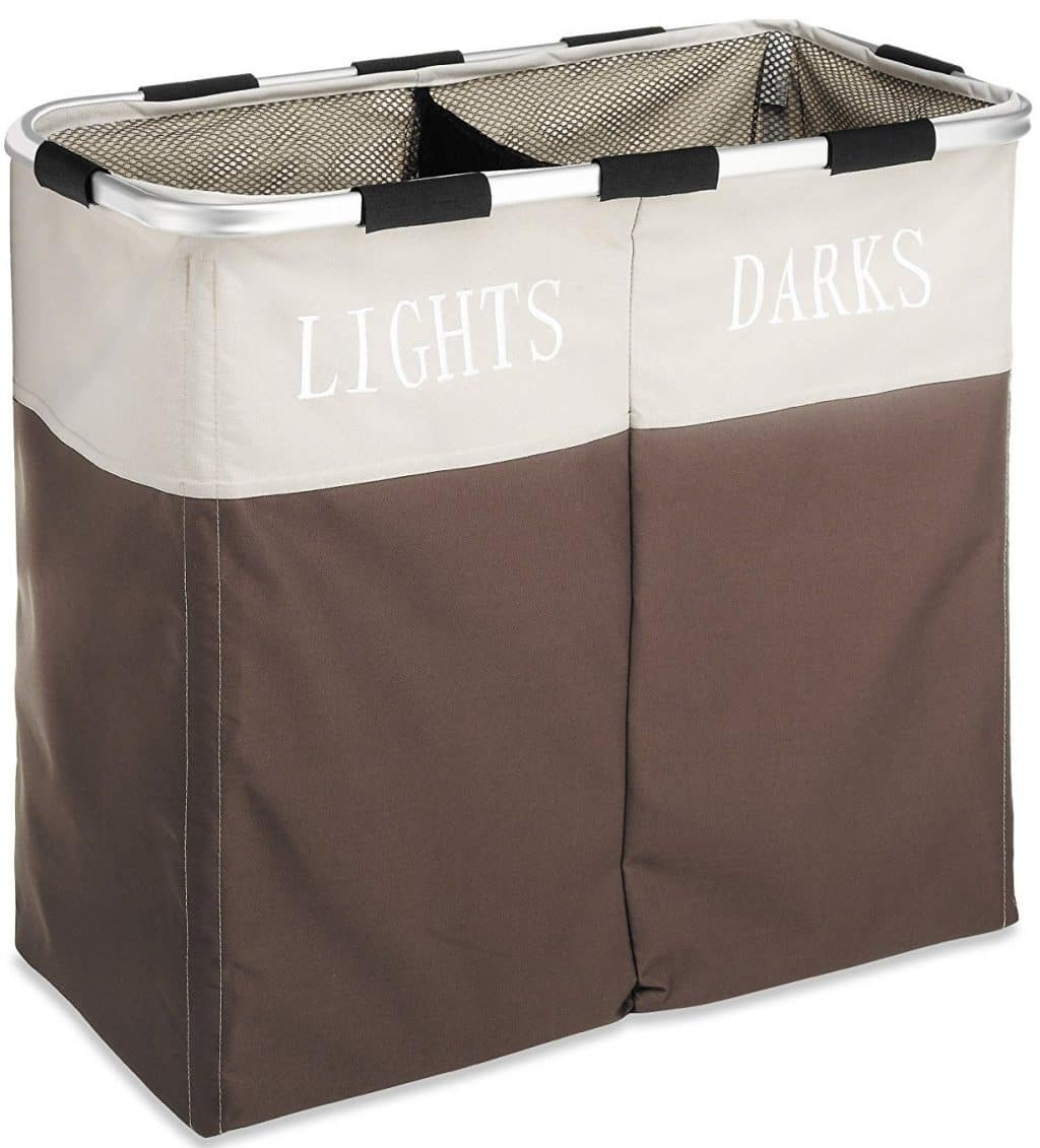 Whitmor Easycare Double Laundry Hamper