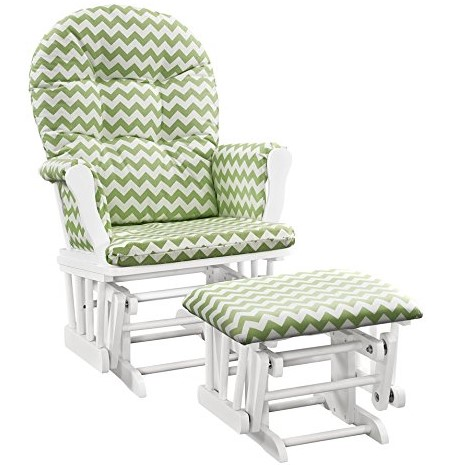 Angel Line Windsor Glider and Ottoman